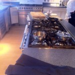 My work bench at Sharps Connoisseur Cook off