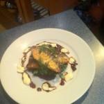 Karen's final dish at Sharps Connoisseur Cook off
