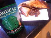 Haggis and beer toastie recipe