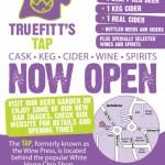 Truefitt's Tap Now Open!